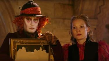 """Un extrait de la bande-annonce du film """"Alice Through The Looking Glass"""""""