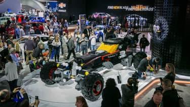 Voici la nouvelle Batmobile en Lego dévoilée par Chevrolet lors du salon de Détroit