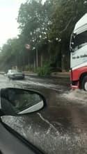 Inondation sur l'A6 - Témoins BFMTV