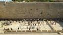 Le Mur des Lamentations à Jérusalem est séparé en deux: la majeure partie est réservée aux hommes.