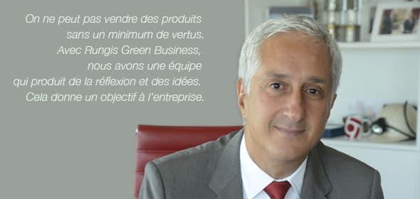 Stéphane Layani, Président Directeur Général de la SEMMARIS