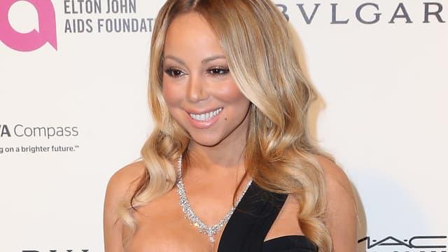 Mariah Carey le 28 février 2016 à Los Angeles
