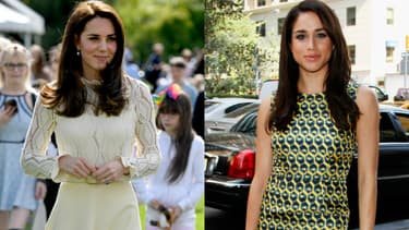Kate Middleton et Meghan Markle
