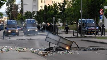 Des violences ont eu lieu lundi soir à Dijon.