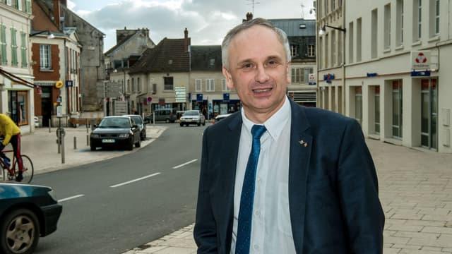 Franck Briffaut le 4 mars 2015, à Villers-Cotterets.