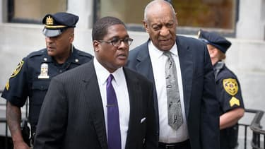 Bill Cosby au sixième jour de son procès, le 17 juin 2017.