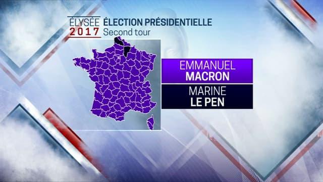 Emmanuel Macron et Brigitte Macron.