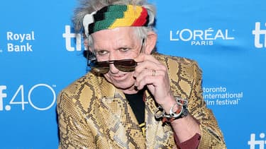 Keith Richards au Canada en septembre 2015