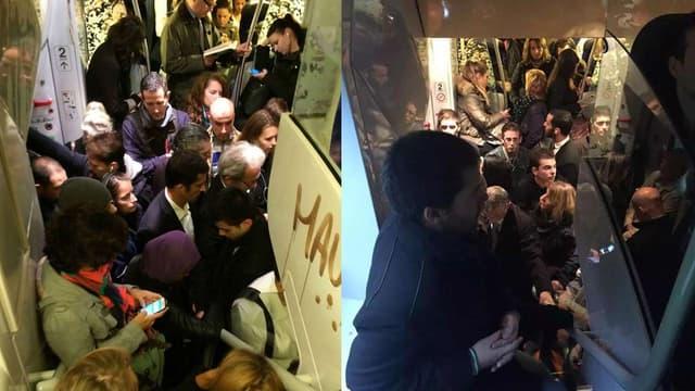Les usagers des TER postent de nombreuses photos sur les réseaux sociaux de trains bondés.