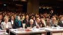 Un parterre de prestige était présent à la conférence organisée par les Moudjahidines du peuple iranien, à la Mutualité. Octobre 2013.