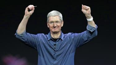 Lors d'une conférence du Wall Street Journal, le patron d'Apple Tim Cook a annoncé que son service de strealing avait conquis 6,5 millions d'utilisateurs payants.