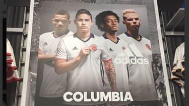 """""""Colombia"""" est devenu """"Columbia"""" dans l'une des publicités Adidas."""