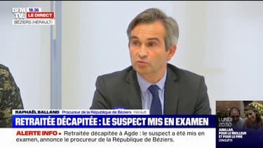 """Femme décapitée à Agde: le procureur de Béziers indique 5 éléments """"qui mettent gravement en cause"""" le suspect"""