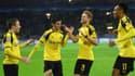 Les attaquants de Dortmund ont bien rigolé face au Legia Varsovie mardi.
