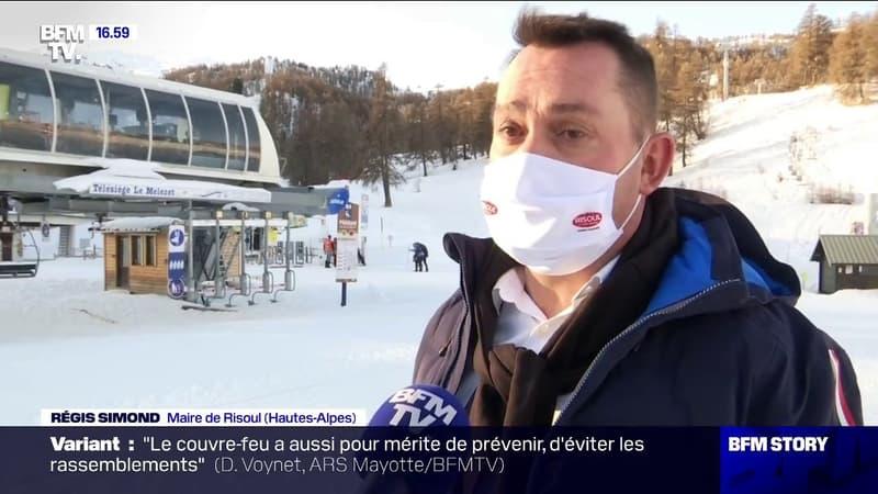 Hautes-Alpes: la ville de Risoul rouvre fictivement une remontée mécanique pour démontrer l'efficacité des mesures sanitaires