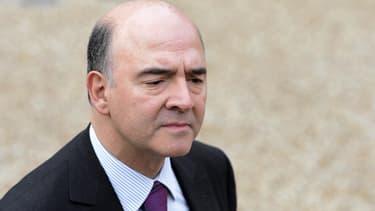 Pierre Moscovici a maintenu les prévisions de croissance du gouvernement.