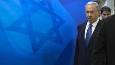 Benjamin Netanyahou à Jérusalem, le 23 novembre 2014.
