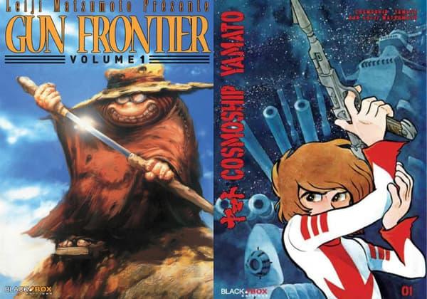 Gun Frontier et Cosmoship Yamato de Leiji Matsumoto
