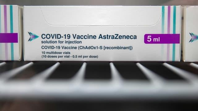 Un flacon du vaccin AstraZeneca (Photo d'illustration).
