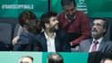 Gérard Piqué lors de la Coupe Davis 2019