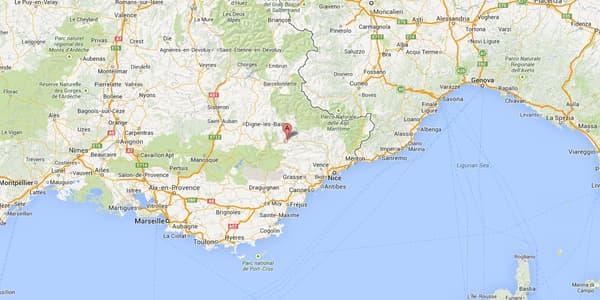 L'accident s'est produit à hauteur de Saint-Benoît, dans les Alpes-de-Haute-Provence.