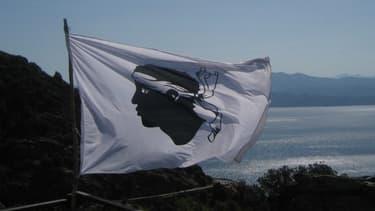 La tête de Maure, drapeau de la Corse