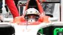 Le pilote français Jules Bianchi, dimanche au Japon, avant son accident.