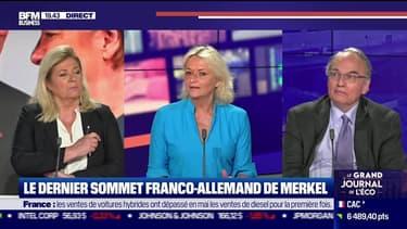 Le dernier sommet franco-allemand de Merkel - 01/06
