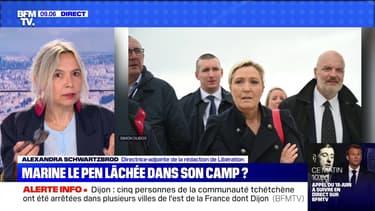 Marine Le Pen lâchée dans son camp ? - 18/06