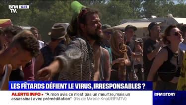 Story 3 : Des milliers de fêtards défient le virus - 13/07