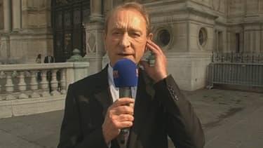 Bertrand Delanoë défend son bilan, et notamment sur la pollution à Paris, à quelques jours des élections municipales.