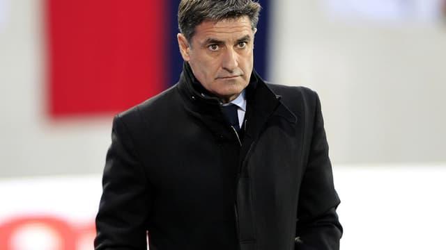 Michel, l'entraîneur espagnol de l'OM
