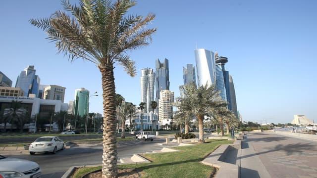 La ville de Doha, au Qatar.