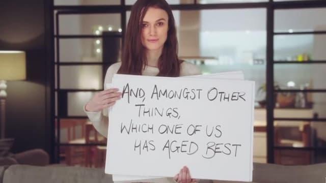 "Keira Knightley sera de retour dans la (courte) suite de ""Love Actually"""
