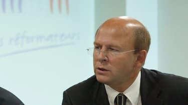 Jean-Pierre Gorges, maire sans étiquette de Chartres et président de Chartres Métropole