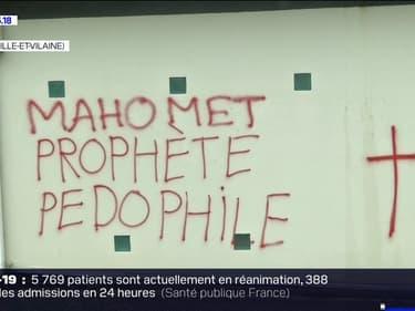 Rennes: des tags anti-musulmans découverts sur les murs d'une salle de prière, Gérald Darmanin se rend sur place