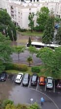 Orage à Mérignac (Gironde), des rues inondées - Témoins BFMTV