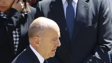 Nicolas Sarkozy et Alain Juppé aux Invalides le 7 juillet 2016 (photo d'illustration)