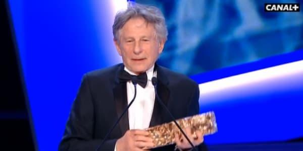Roman Polanski a reçu le César du meilleur réalisateur.