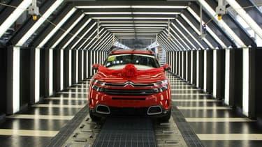 Le C5 Aircross tire les ventes de Citroën