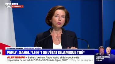 """Florence Parly: """"La mort d'Adnan Abou Walid al-Sahraoui porte un coup décisif au commandement de Daesh au Sahel"""""""