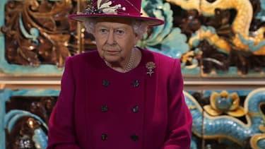 La reine Elizabeth II en novrembre 2017.