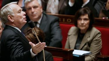 """A l'Assemblée nationale, Jean-Marc Ayrault a prévenu que les violences en Bretagne seraient """"sanctionneées""""."""