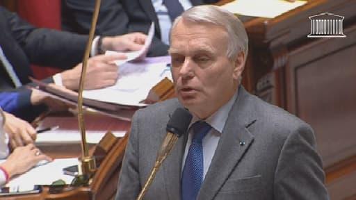 Jean-Marc Ayrault à l'Assemblée nationale mercredi 13 novembre
