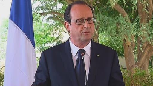 François Hollande a décidé jeudi de débloquer 11 millions d'euros pour l'aide humanitaire à Gaza.