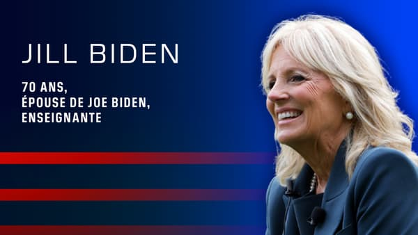 Jill Biden, l'épouse de Joe Biden.