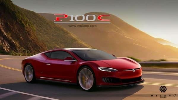 La P100C, la Model S en version coupé