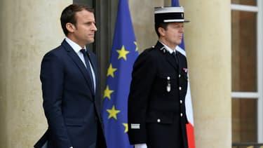 Emmanuel Macron le 7 juin 2017 à l'Elysée.