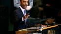 Le président américain Barack Obama a dit mercredi à l'Onu que les Palestiniens méritaient d'avoir un Etat mais que celui-ci ne pourrait être obtenu qu'à travers des négociations avec Israël. /Photo prise le 21 septembre 2011/REUTERS/Kevin Lamarque