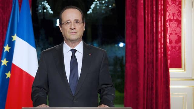François Hollande se prépare à prononcer pour la troisième fois ses voeux de fin d'année aux Français.
